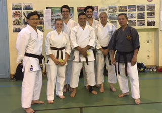 Karate Club de Saint Maur - Passage de grades