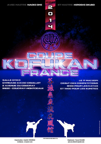 Karate club de Saint Maur-Coupe de France Kofukan 2014