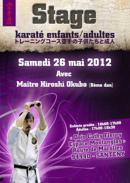 Karate club de Saint Maur - Stage OKUBO
