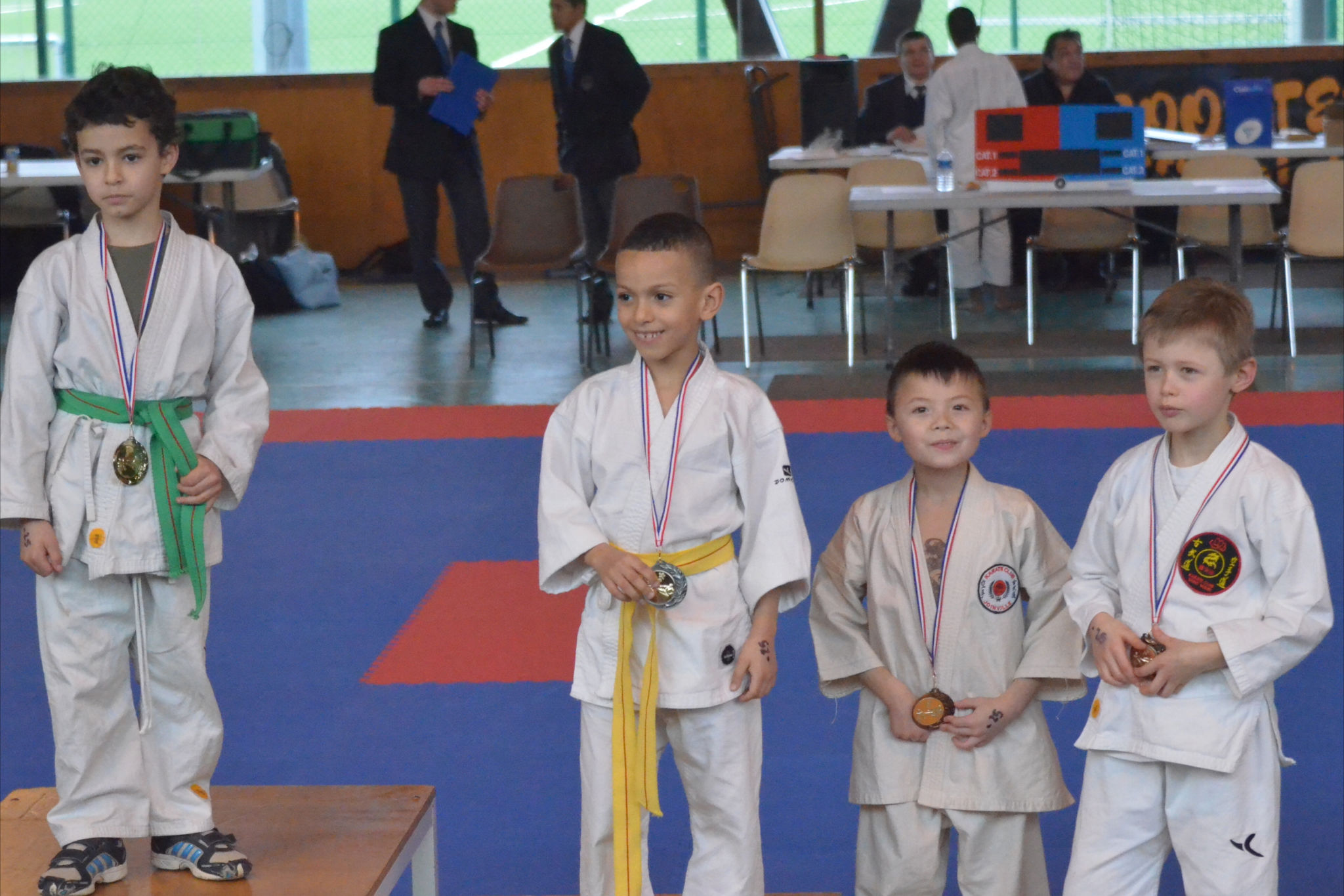 Karate club de Saint Maur - BENJAMIN