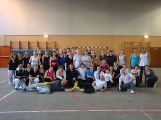 Karate Club de Saint Maur - groupe stage Karate Body Training