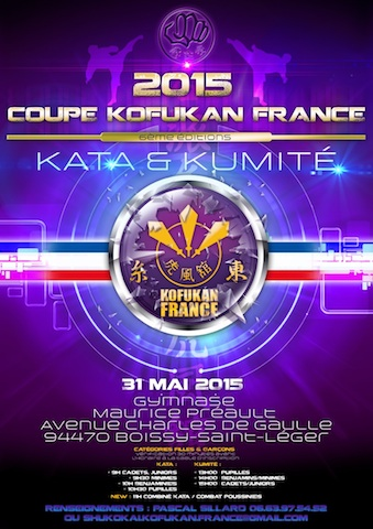 Karaté club de Saint Maur - Coupe de France Kofukan