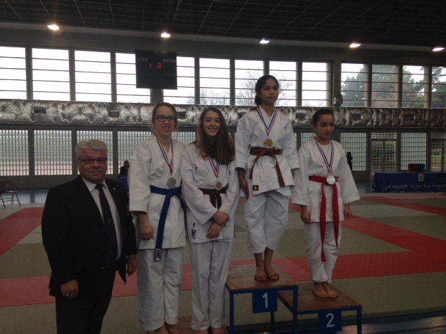 Karaté Club de Saint Maur - Coupe de France Shukokai 2015