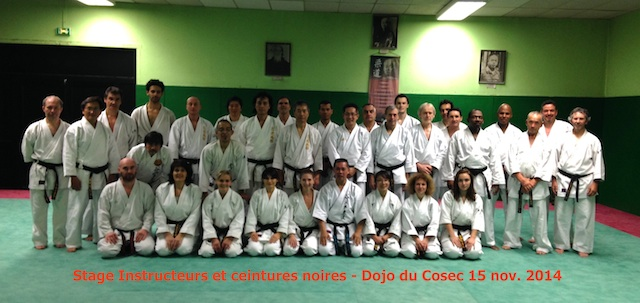 Karate Club de Saint Maur - Stage Insctructeurs Kofukan France