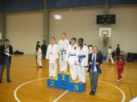 karate club de saint maur - Podium de Robin