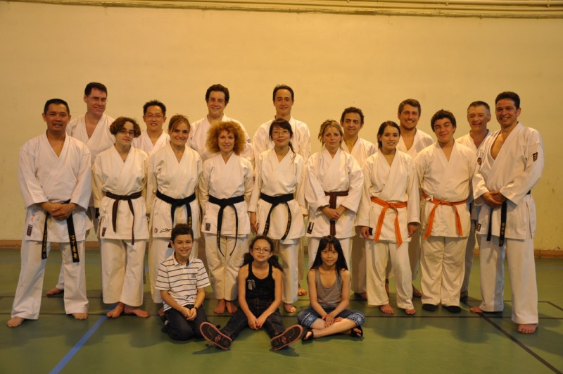 Karate club de Saint Maur - Cours