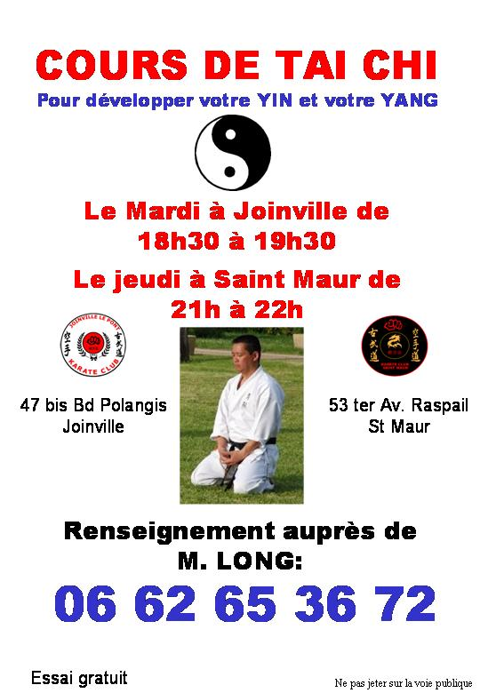 karate club saint maur - Tai Chi